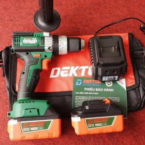 Máy khoan 3 chức năng 13mm Dùng pin 21V Dekton DK-ID2140MKT (Chân pin Makita)